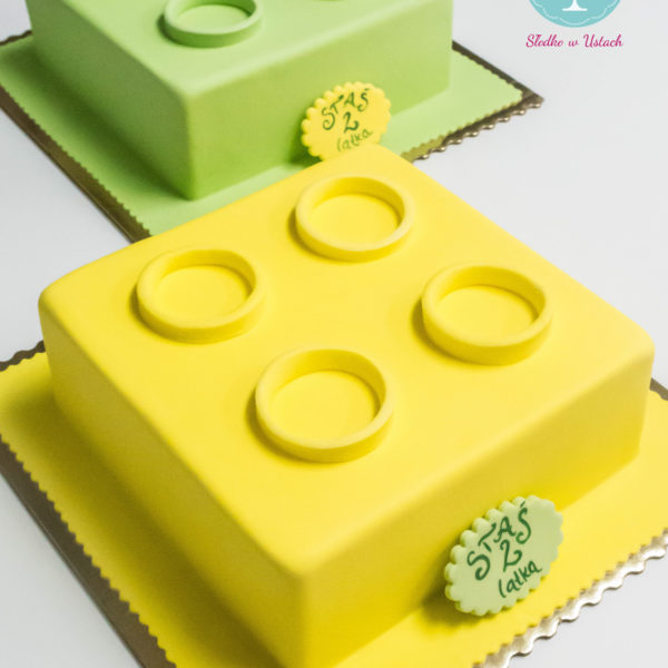 U152 - tort urodzinowy, na urodziny, dla dzieci, artystyczny, lego, duplo, warszawa