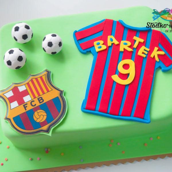 U164 - tort urodzinowy, na urodziny, dla dzieci, artystyczny, piłka nożna, piłkarski, warszawa