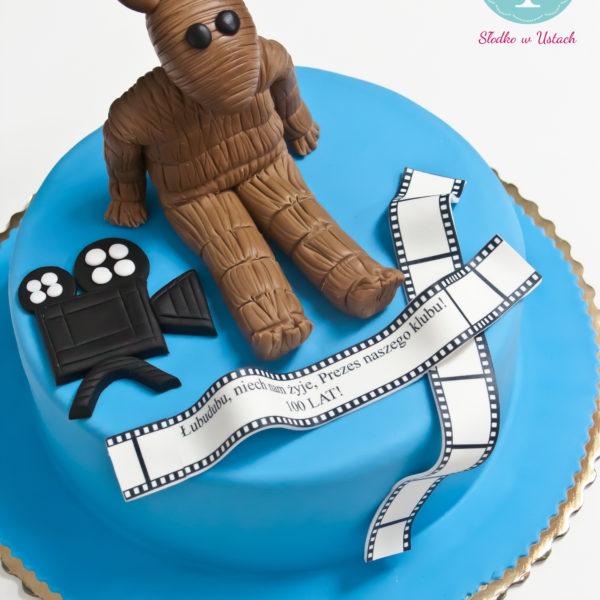 U168 - tort urodzinowy, na urodziny, artystyczny, miś, filmowy, warszawa