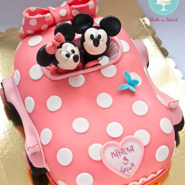 U206 - tort urodzinowy, na urodziny, dla dzieci, artystyczny, myszka miki, minnie, warszawa