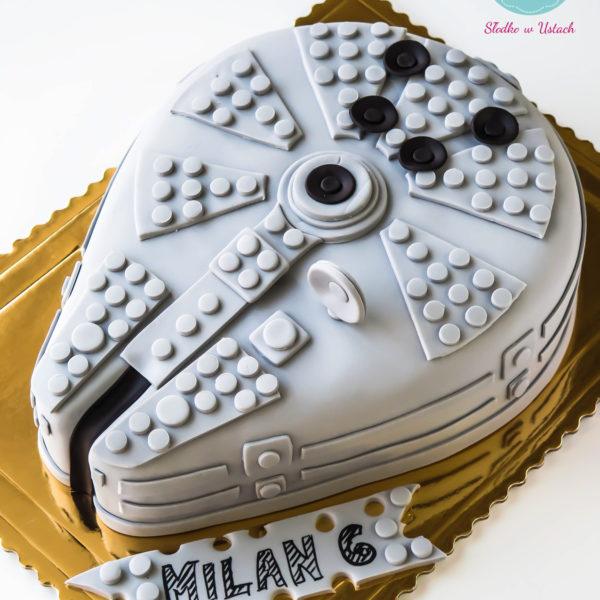 U231 - tort urodzinowy, na urodziny, dla dzieci, artystyczny, lego, statek, warszawa