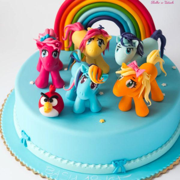 U235 - tort urodzinowy, na urodziny, dla dzieci, artystyczny, konik, pony, konstancin jeziorna, warszawa, piaseczno