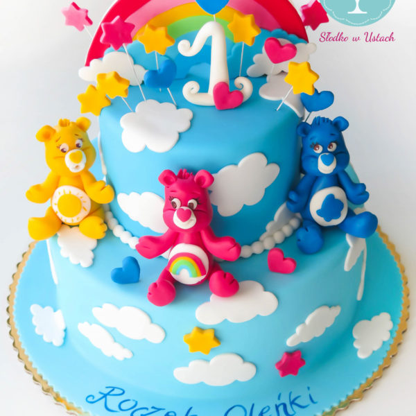U237 - tort urodzinowy, na urodziny, dla dzieci, roczek, artystyczny, troskliwe misie, konstancin jeziorna, warszawa, piaseczno