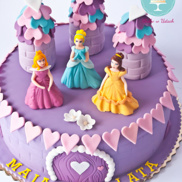 U238 - tort urodzinowy, na urodziny, dla dzieci, artystyczny, księżniczki, konstancin jeziorna, warszawa, piaseczno