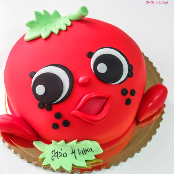 U249 - tort urodzinowy, na urodziny, dla dzieci, artystyczny, jabłuszko, warszawa, z dostawą,