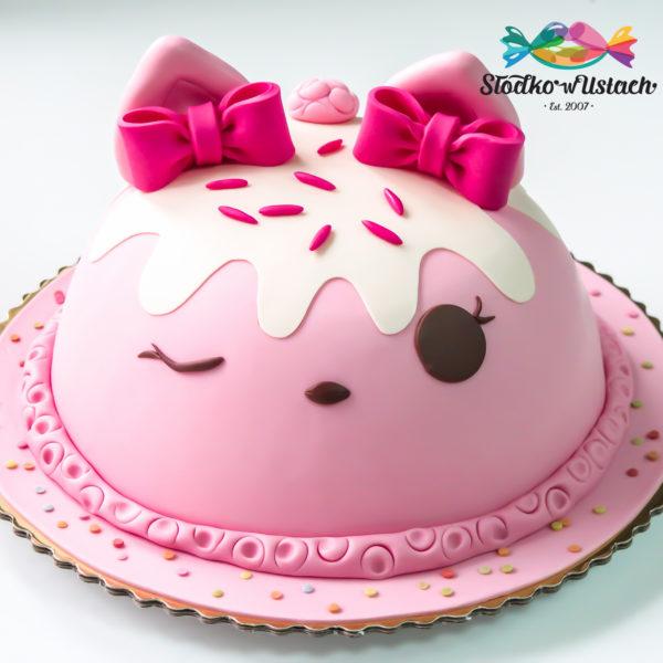 U283 - tort urodzinowy, na urodziny, dla dzieci, artystyczny, num noms, warszawa
