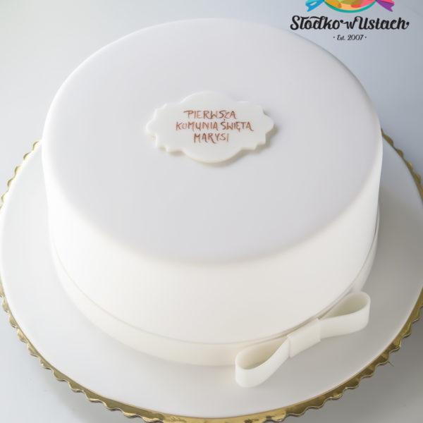 KCH50 - tort na komunie, dla dzieci, artystyczny, komunijny, warszawa