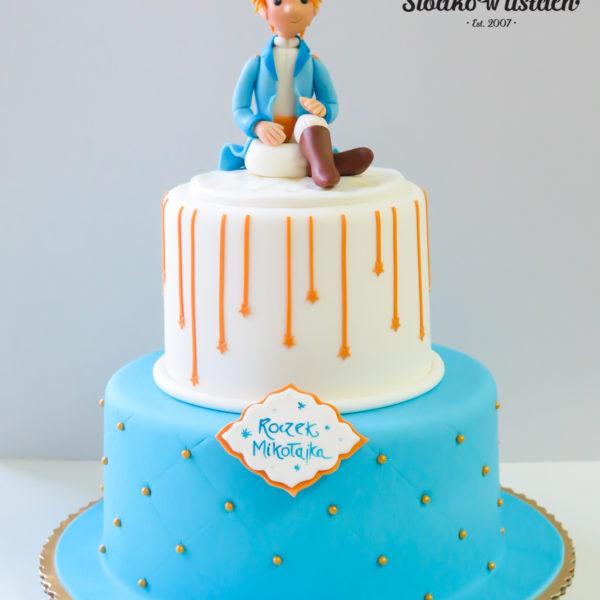 U298 - tort urodzinowy, na urodziny, dla dzieci, artystyczny, roczek, pierwsze urodziny, książe, warszawa, z dostawą, konstancin jeziorna