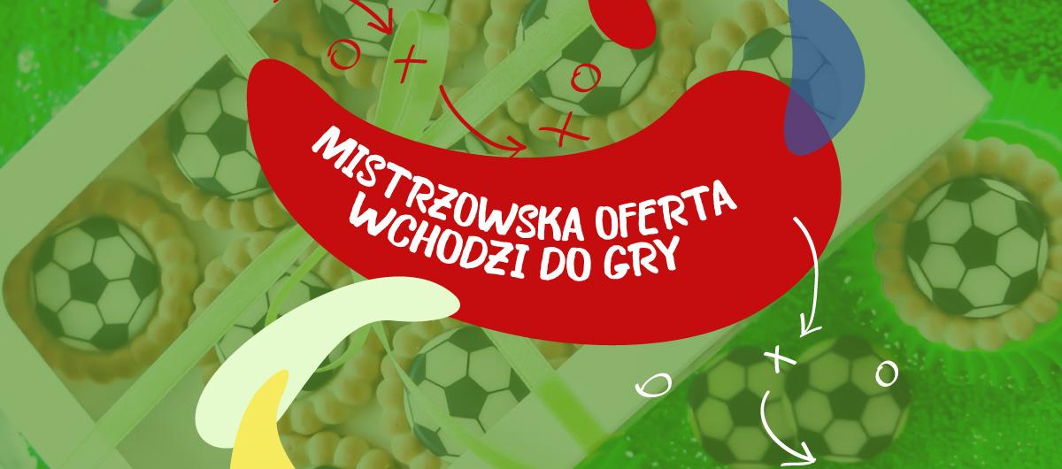 ciastka piłkarskie na mistrzostwa świata w piłce nożnej Warszawa