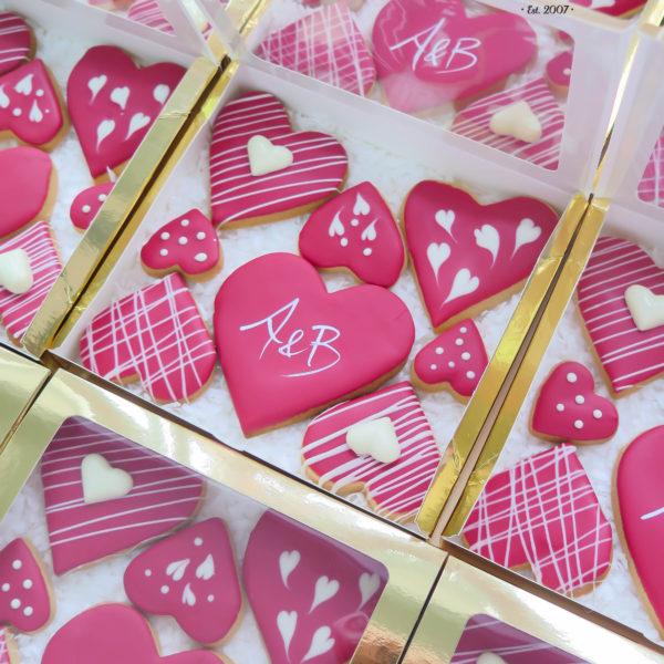 C125 - ciastka, kruche, prezenty, słodki stół, dla gości, kącik, candy, bar , warszawa, z dostawą, na ślub, wesele, walentynki