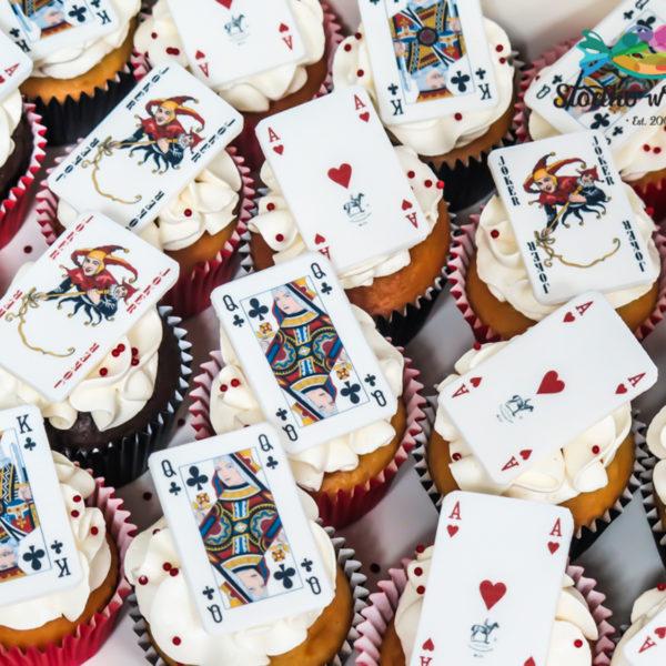 C126 - cupcakes, muffiny, babeczki, słodki stół, kącik, candy, bar , firmowe,