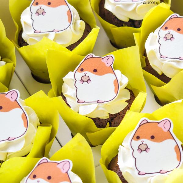 C134 - cupcakes, muffiny, babeczki, słodki stół, kącik, candy, bar , urodzinowe
