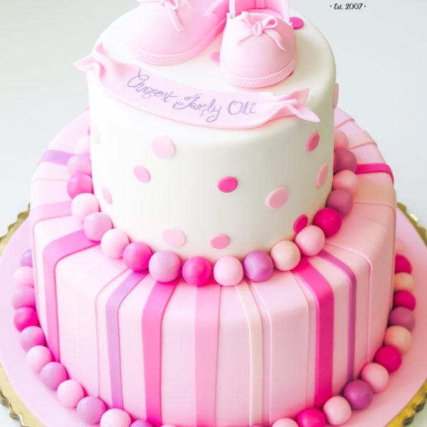KCH55 - tort na chrzciny, chrzest, dla dziewczynki, warszawa, konstancin jeziorna, piaseczno