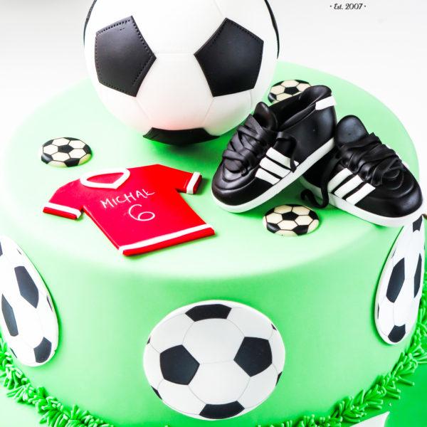 U318 - tort urodzinowy, na urodziny, artystyczny, piłka, warszawa, piłka nożna, piłkarski, dla piłkarza, konstancin jeziorna, hobby, pasja, sport