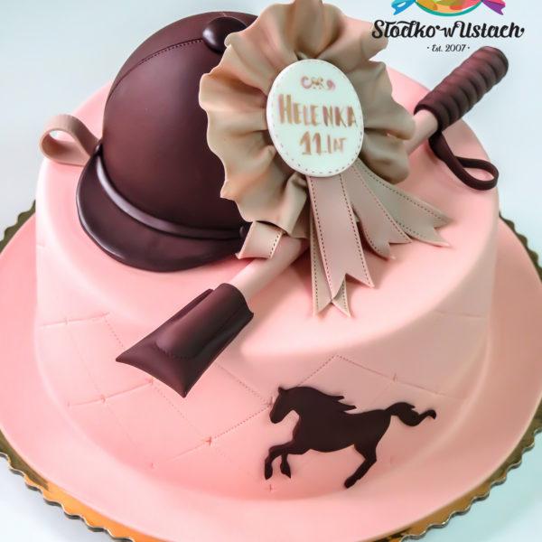 U323 - tort urodzinowy, na urodziny, artystyczny, jeździectwo, jazda konna, warszawa, konstancin jeziorna, hobby, pasja, sport