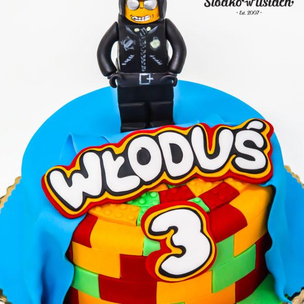 U352 - tort urodzinowy, na urodziny, dla dzieci, artystyczny, lego, bad cop, policjant,, warszawa
