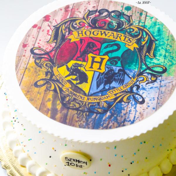 K33 - tort, klasyczny, harry potter, ze zdjęciem, z wydrukiem, warszawa, z dostawą, urodzinowy, dla dzieci