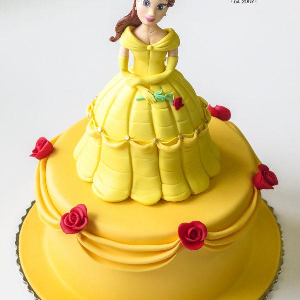 U365 - tort urodzinowy, na urodziny, dla dzieci, artystyczny, bella, księżniczka, konstancin jeziorna, warszawa, piaseczno