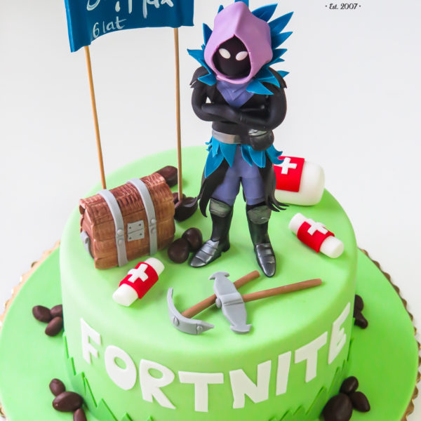 U369 - tort urodzinowy, na urodziny, dla dzieci, artystyczny, fortnite, warszawa, z dostawą,
