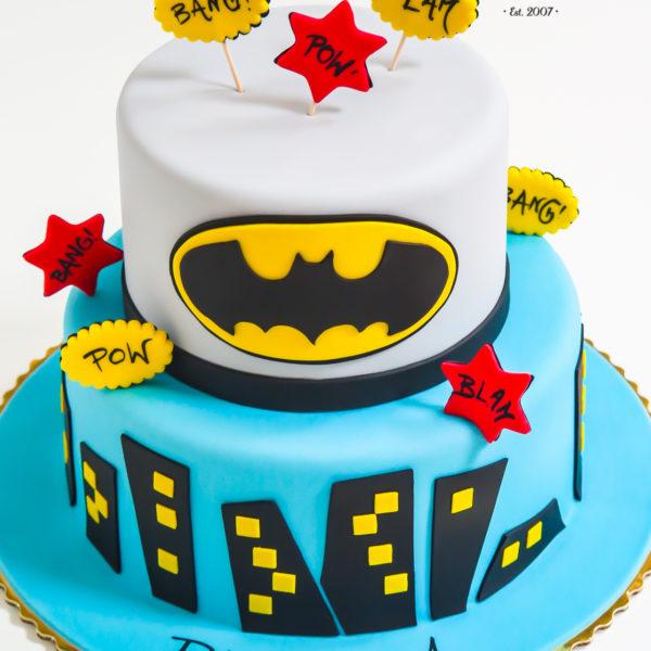 U385 - tort urodzinowy, na urodziny, dla dzieci, artystyczny, batman, dc comics, warszawa,