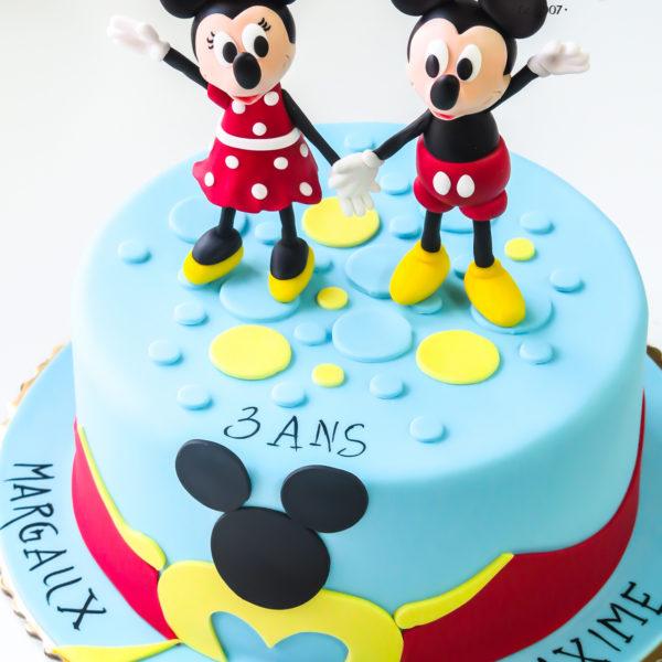 U389 - tort urodzinowy, na urodziny, dla dzieci, artystyczny, klub przyjaciół myszki miki, myszka miki, mickey, minnie, warszawa