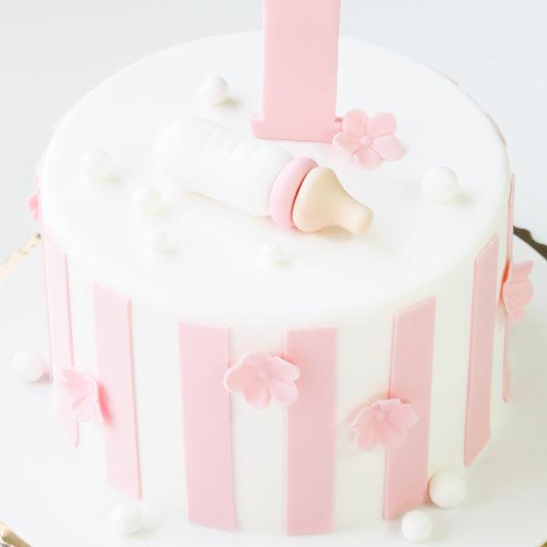 U405 - tort urodzinowy, na urodziny, dla dzieci, artystyczny, roczek, pierwsze urodziny, warszawa, z dostawą,