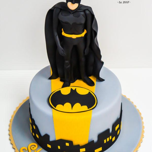 U74 - tort urodzinowy, na urodziny, dla dzieci, artystyczny, batman, dc comics, warszawa,