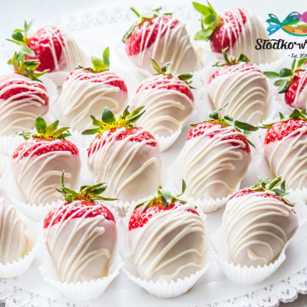 C157 - truskawki w czekoladzie, prezenty, słodki stół, kącik, candy, bar , warszawa, z dostawą, na ślub, wesele, event