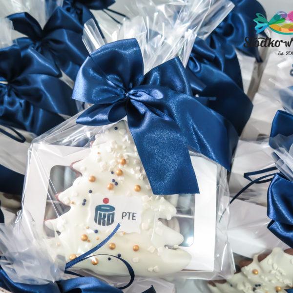F160 - pierniki firmowe, dla firm, słodycze firmowe, reklamowe, personalizowane, warszawa, świąteczne, prezenty