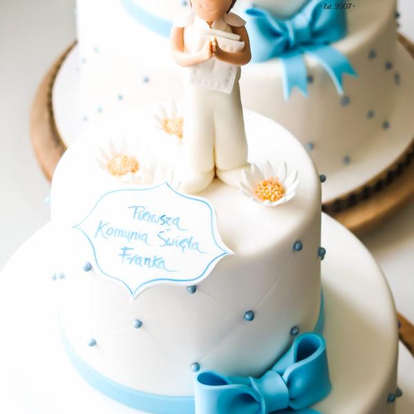 KCH66 - tort na komunie, dla dzieci, artystyczny, komunijny, warszawa, konstancin jeziorna, dla chłopca