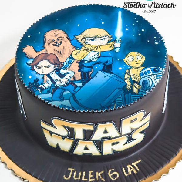 LM36 - tort urodzinowy, na urodziny, dla dzieci, klasyczny, last minute, star wars, gwiezdne wojny, na ostatnią chwilę, warszawa,