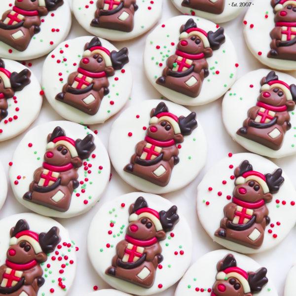 SW90 - ciastka kruche z czekoladkami, dla firm, słodycze firmowe, reklamowe, personalizowane, warszawa, świąteczne, prezenty, z dostawą