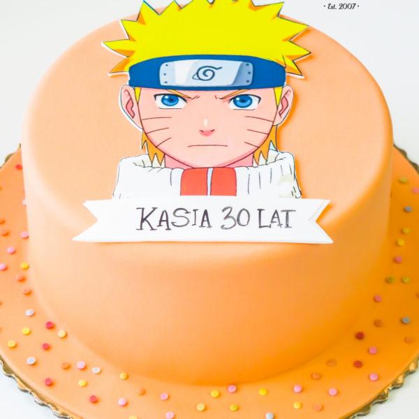 U416 - tort urodzinowy, na urodziny, naruto, artystyczny, warszawa