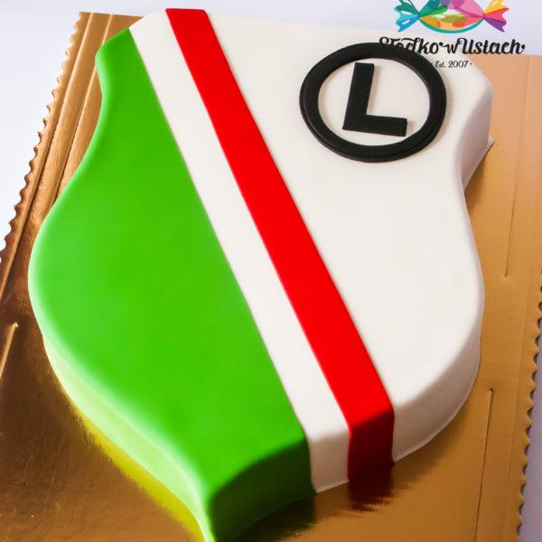 U419 - tort urodzinowy, legia, na urodziny, artystyczny, piłka, warszawa, piłka nożna, konstancin jeziorna, hobby, pasja, sport
