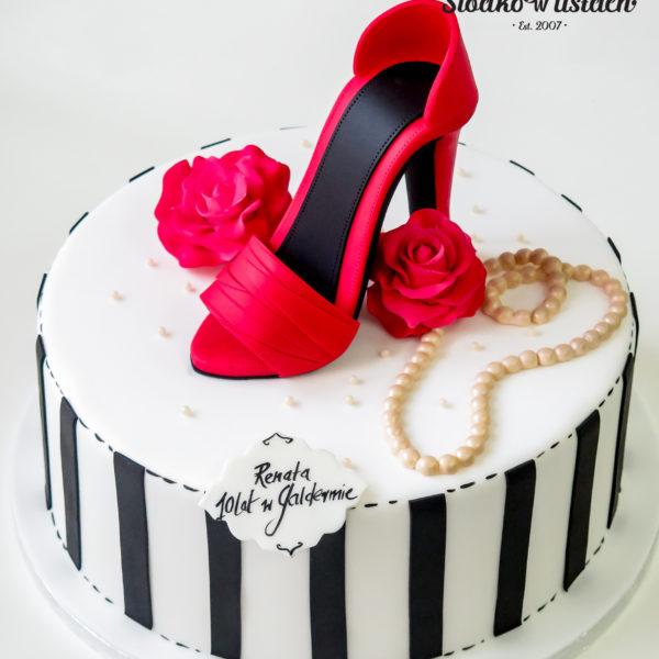 U432 - tort urodzinowy, na urodziny, artystyczny, kobiecy, hobby, pasja , praca, dla pracownika, szpilki, warszawa, szpilka, konstancin jeziorna