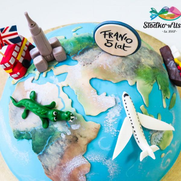 U451 - tort urodzinowy, na urodziny, artystyczny, podróże, travel, warszawa, konstancin jeziorna, hobby, pasja,