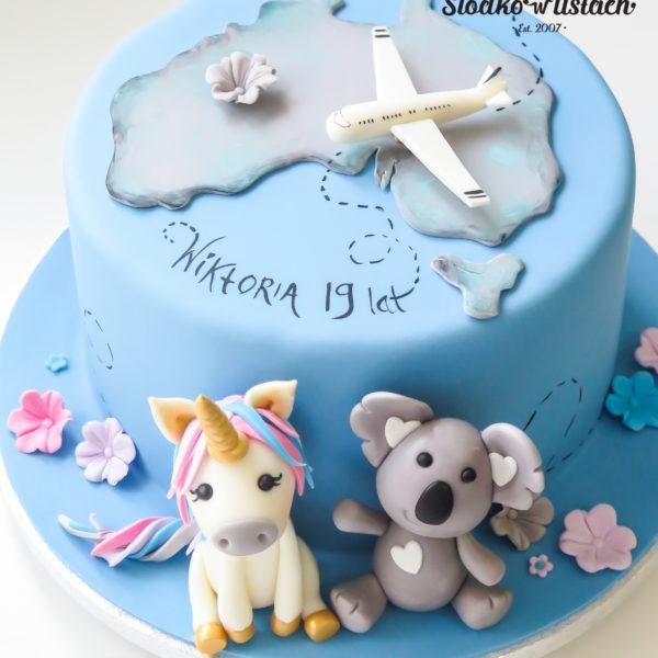 U454 - tort urodzinowy, na urodziny, artystyczny, podróże, travel, , warszawa, konstancin jeziorna, hobby, pasja, jednorożec