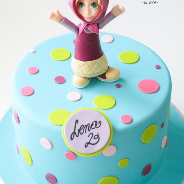 U457 - tort urodzinowy, na urodziny, dla dzieci, artystyczny, masza, warszawa, piaseczno, wilanów, konstancin jeziorna
