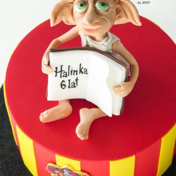 U465 - tort urodzinowy, na urodziny, dla dzieci, artystyczny, zgredek, harry potter, konstancin jeziorna, warszawa
