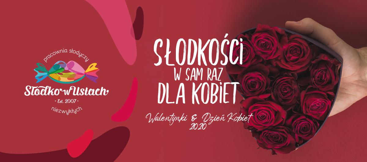 słodycze na Walentynki i Dzień Kobiet, Warszawa, Piseczno, Konstancin, dla firm, z dostawą