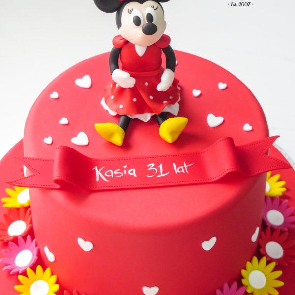 U470 - tort urodzinowy, na urodziny, dla dzieci, artystyczny, myszka, mini, minnie, tort z dostawą, transportem warszawa, piaseczno, konstancin jeziorna, góra kalwaria, polska
