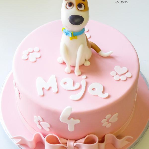 U487 - tort urodzinowy, na urodziny, dla dzieci, artystyczny, pieski, sekretne życie zwierzaków domowych, tort z dostawą, transportem warszawa, piaseczno, konstancin jeziorna, góra kalwaria, polska
