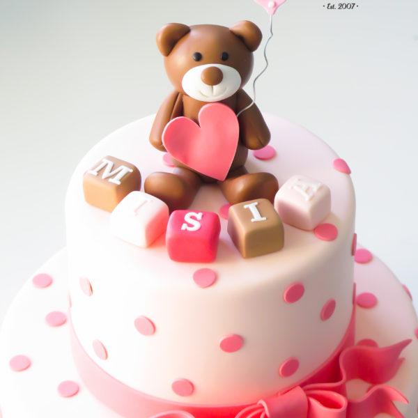 U488 - tort urodzinowy, na urodziny, dla dzieci, artystyczny, miś, tort z dostawą, transportem warszawa, piaseczno, konstancin jeziorna, góra kalwaria, polska
