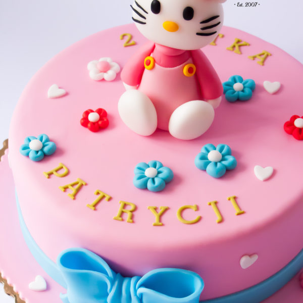 U49 - tort urodzinowy, na urodziny, dla dzieci, artystyczny, hello kitty, tort z dostawą, transportem warszawa, piaseczno, konstancin jeziorna, góra kalwaria, polska