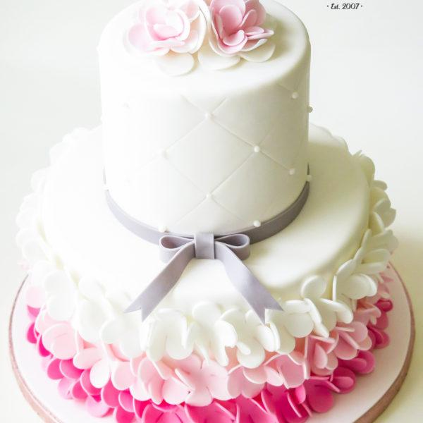 U504 - tort urodzinowy, na urodziny, artystyczny, z kwiatami, kwiaty, kobiecy, tort z dostawą, transportem warszawa, piaseczno, konstancin jeziorna, góra kalwaria, polska