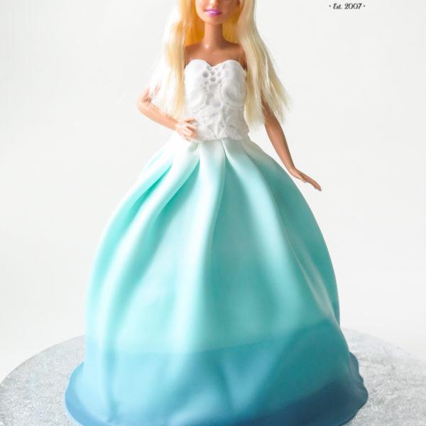 U511 - tort urodzinowy, na urodziny, dla dzieci, artystyczny, lalka, barbie, w kształcie, tort z dostawą, transportem warszawa, piaseczno, konstancin jeziorna, góra kalwaria, polska
