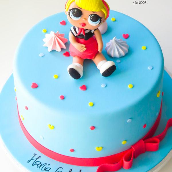 U518 - tort urodzinowy, na urodziny, dla dzieci, artystyczny, laleczki, lol surprise, tort z dostawą, transportem warszawa, piaseczno, konstancin jeziorna, góra kalwaria, polska