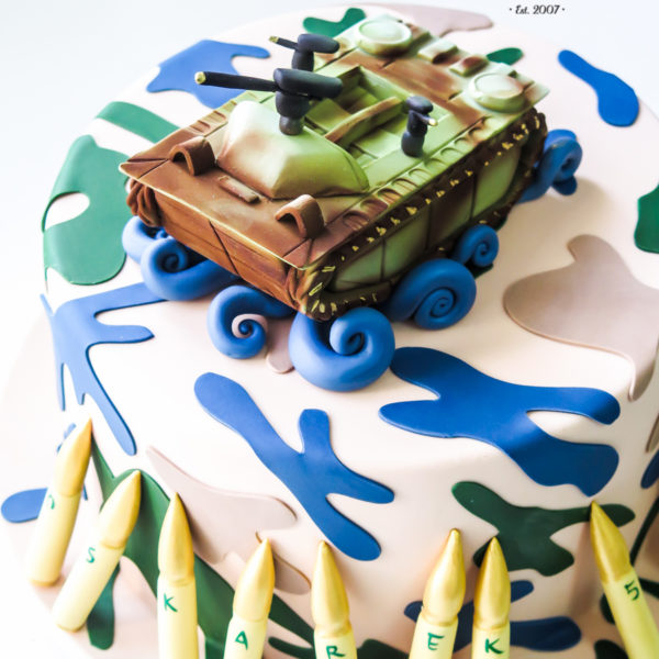 U524 - tort urodzinowy, na urodziny, dla dzieci, artystyczny, amfibia, militarny, tort z dostawą, transportem warszawa, piaseczno, konstancin jeziorna, góra kalwaria, polska