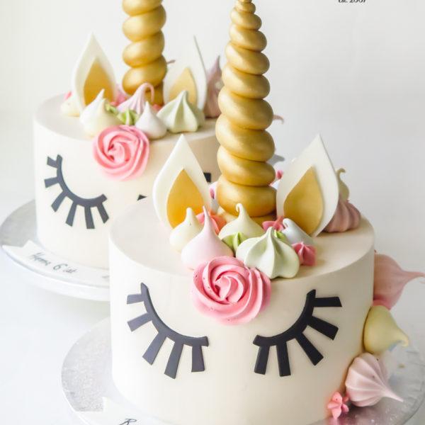 LM81 - tort urodzinowy, na urodziny, jednorożec, w kremie, last minute, na ostatnią chwilę, warszawa, bez masy cukrowej, dla dziewczynki, tort z dowozem, transportem, warszawa, piaseczno, konstancin jeziorna, góra kalwaria, wilanów