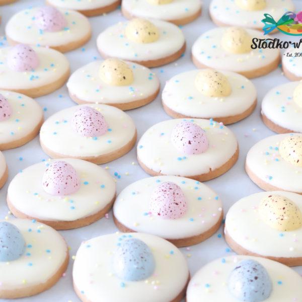 SW107 - ciastka kruche, świąteczne, pisanki, dla firm, słodycze firmowe, reklamowe, personalizowane, warszawa, świąteczne, prezenty, wielkanoc, handmade, jaja wielkanocne